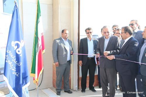 هلیپورت و آشیانه هلیکوپتری فرودگاه بینالمللی خلیج فارس افتتاح شد
