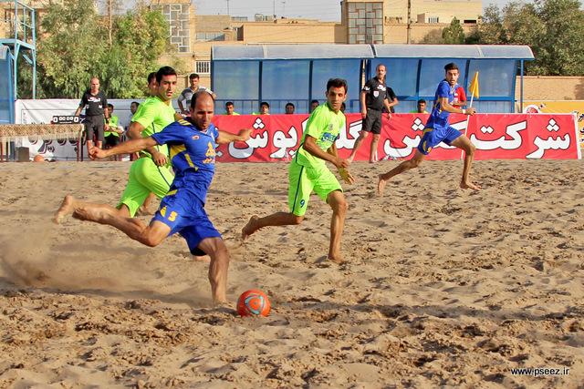 فینال لیگ فوتبال ساحلی 16