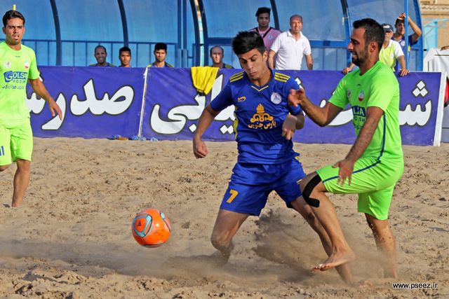 فینال لیگ فوتبال ساحلی 18