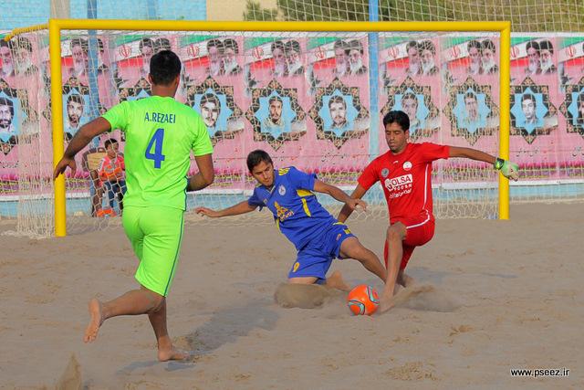 فینال لیگ فوتبال ساحلی 28