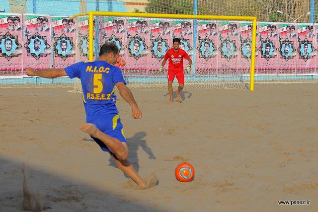 فینال لیگ فوتبال ساحلی 29