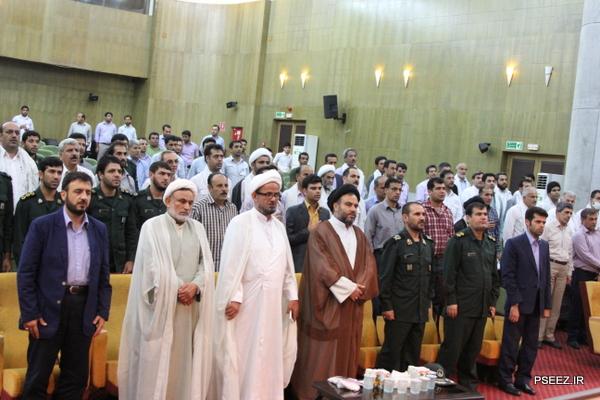 افتتاح یادمان شهدای گمنام شهرستان عسلویه 6