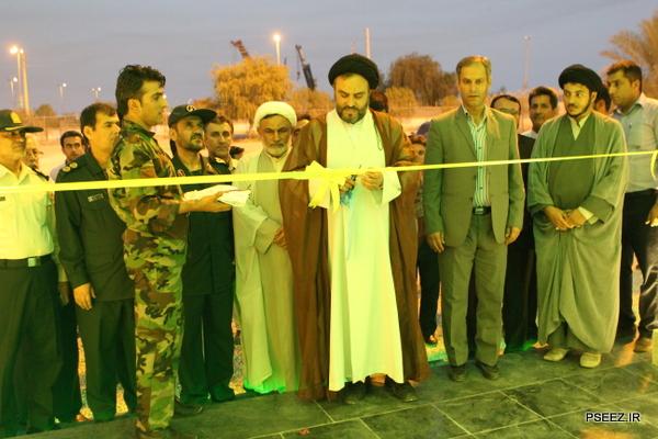 افتتاح یادمان شهدای گمنام شهرستان عسلویه 33