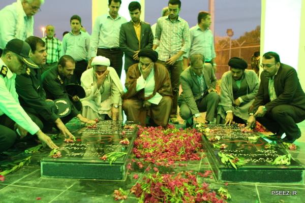 افتتاح یادمان شهدای گمنام شهرستان عسلویه 34