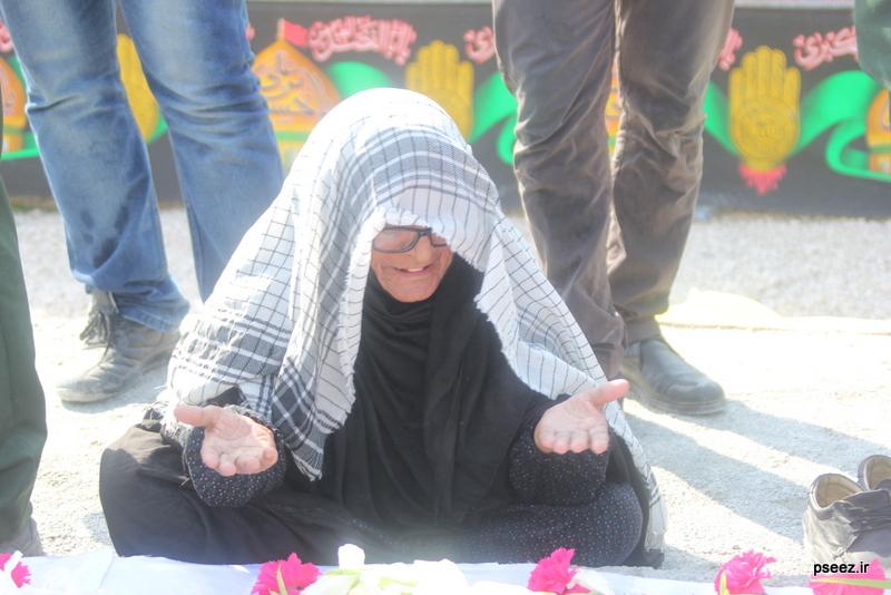 مراسم خاکسپاری پیکر دو شهید گمنام شهرستان عسلویه 23