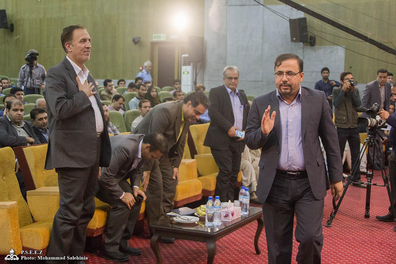 آیین تجلیل از خبرنگاران استان بوشهر 4