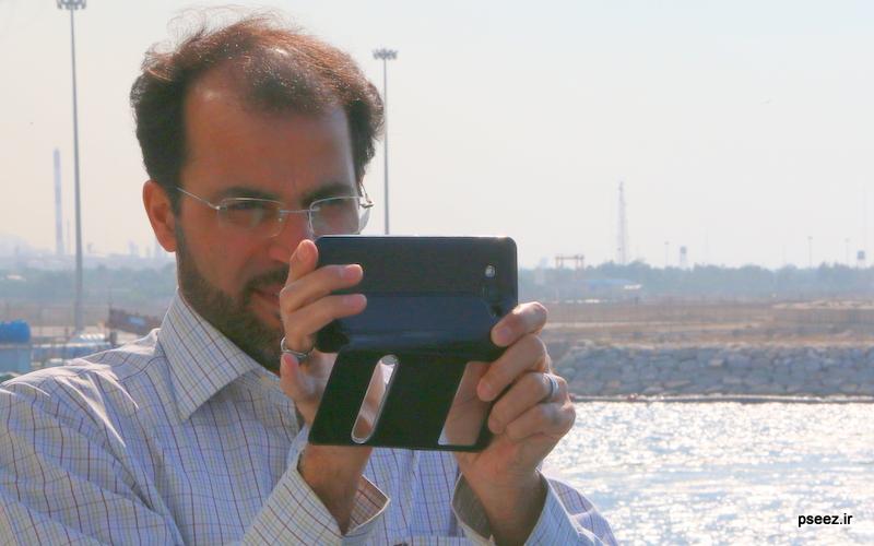 بادید سردبیران و خبرنگاارن ارشد صدا و سیمای جمهوری اسلامی ایران از منطقه ویژه پارس 4