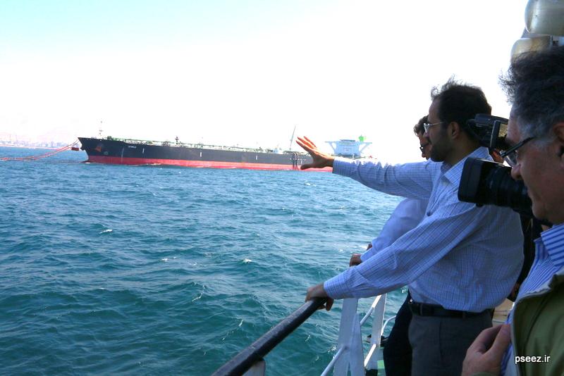بادید سردبیران و خبرنگاارن ارشد صدا و سیمای جمهوری اسلامی ایران از منطقه ویژه پارس 7
