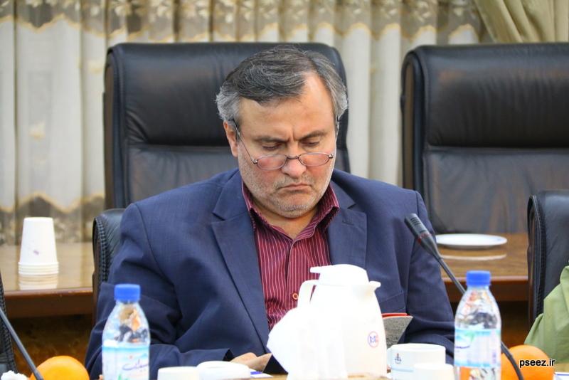 بادید سردبیران و خبرنگاارن ارشد صدا و سیمای جمهوری اسلامی ایران از منطقه ویژه پارس 1