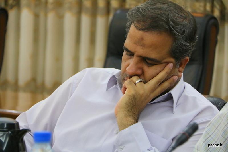 بادید سردبیران و خبرنگاارن ارشد صدا و سیمای جمهوری اسلامی ایران از منطقه ویژه پارس 2