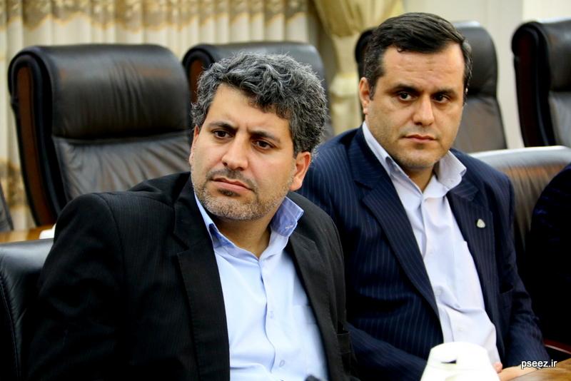 بادید سردبیران و خبرنگاارن ارشد صدا و سیمای جمهوری اسلامی ایران از منطقه ویژه پارس 5