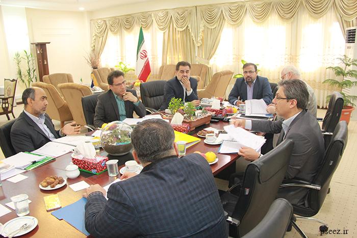 برگزاری اولین جلسه هیات مدیره جدید سازمان منطقه ویژه پارس