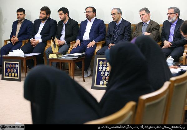 دیدار نخبگان و دانشجویان بسیجی مدالآور دانشگاه شریف 8