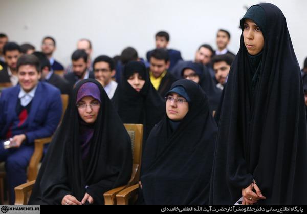 دیدار نخبگان و دانشجویان بسیجی مدالآور دانشگاه شریف 11