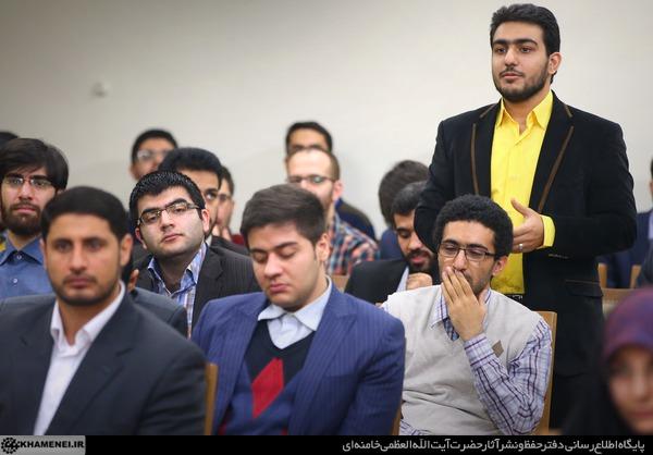 دیدار نخبگان و دانشجویان بسیجی مدالآور دانشگاه شریف 15