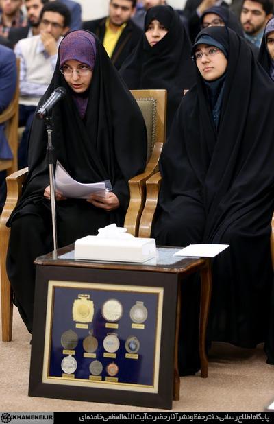 دیدار نخبگان و دانشجویان بسیجی مدالآور دانشگاه شریف 18