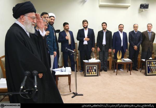 دیدار نخبگان و دانشجویان بسیجی مدالآور دانشگاه شریف 20