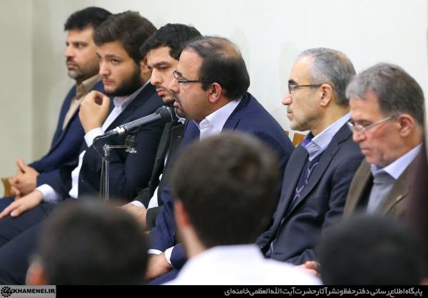 دیدار نخبگان و دانشجویان بسیجی مدالآور دانشگاه شریف 23