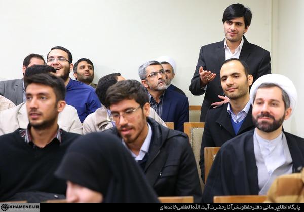دیدار نخبگان و دانشجویان بسیجی مدالآور دانشگاه شریف 25