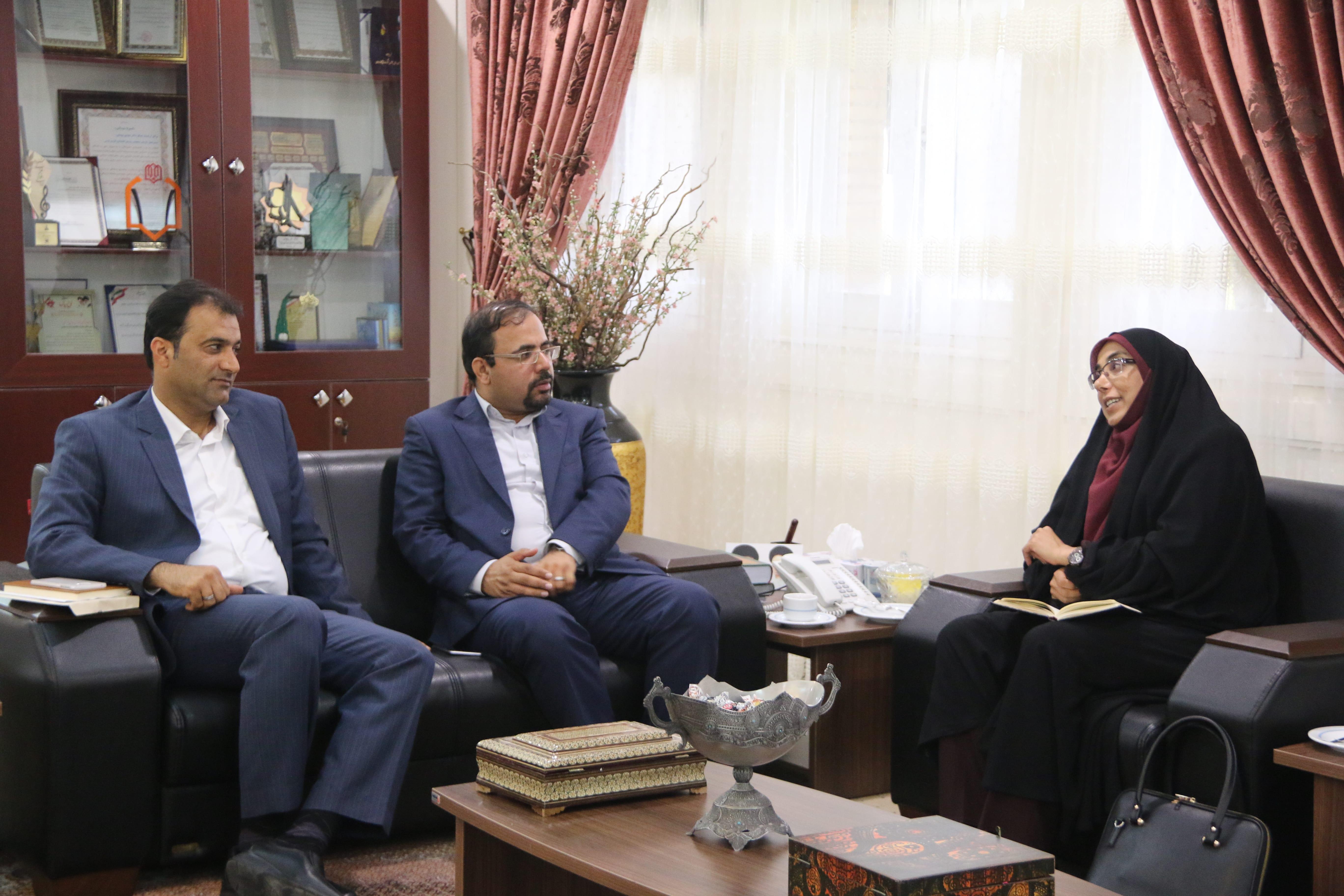 دیدار نماینده مردم عسلویه در مجلس با مدیر عامل سازمان منطقه 1