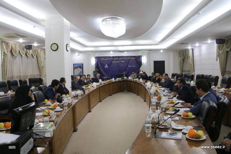 نشست روابط عمومی های منطقه 3 صنعت نفت 1