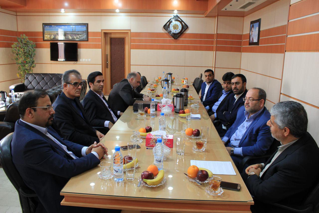 دیدار مدیر عامل سازمان منطقه ویژه اقتصادی انرژی پارس با رییس دادگستری استان بوشهر 4