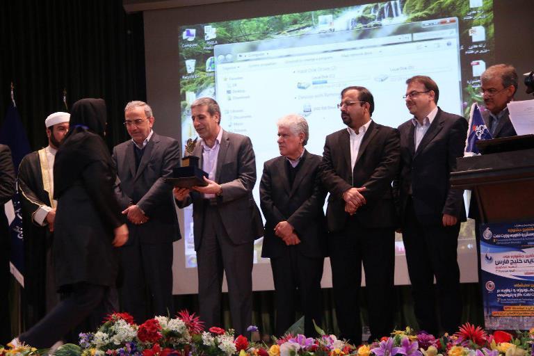ایین اختتامیه هشتمین جشنواره پژوهش و فناوری وزارت نفت 5