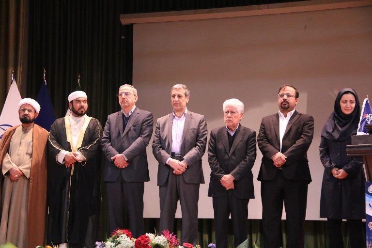 ایین اختتامیه هشتمین جشنواره پژوهش و فناوری وزارت نفت 9