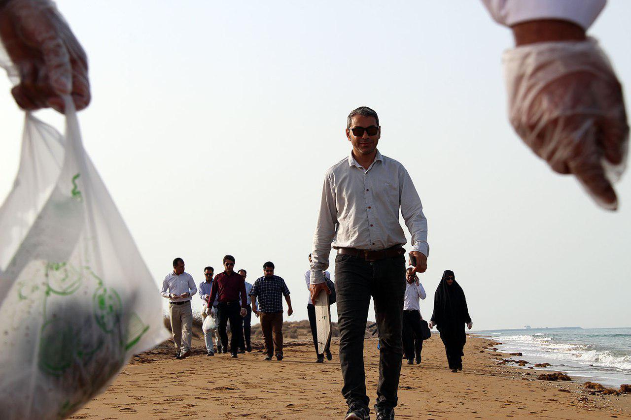 پاکسازی دریا از زباله در پارس شمالی 8