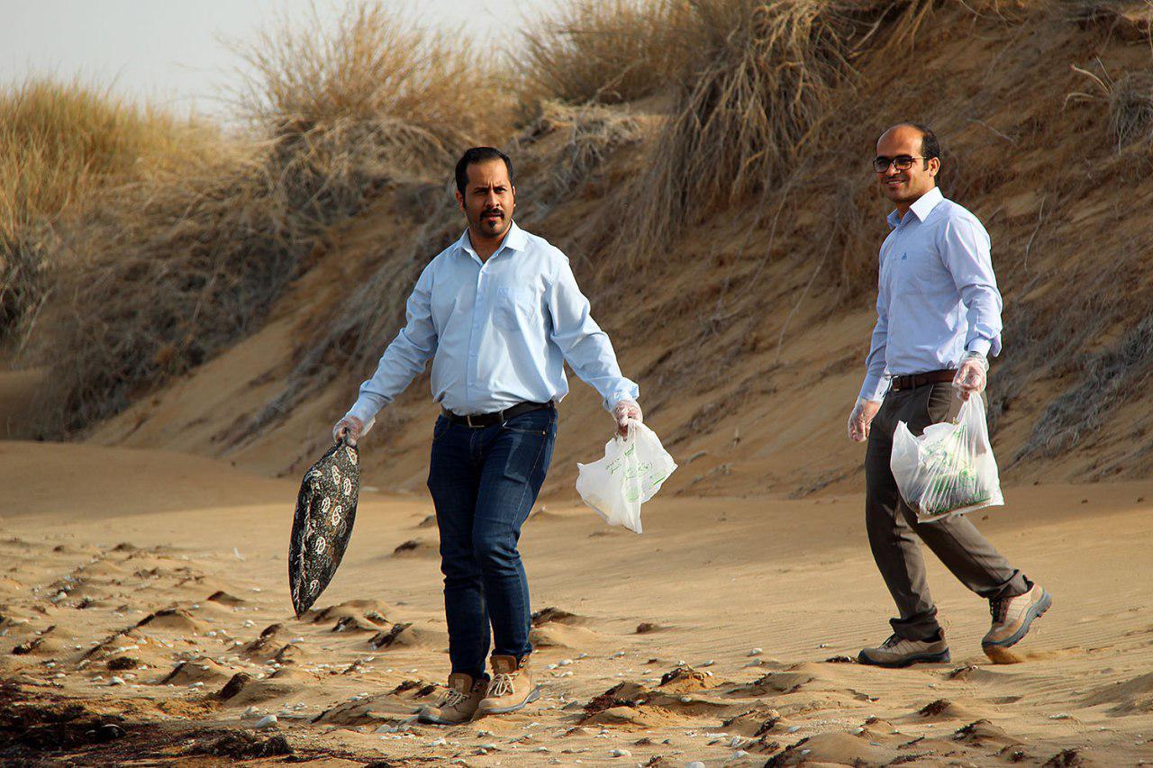 پاکسازی دریا از زباله در پارس شمالی 12