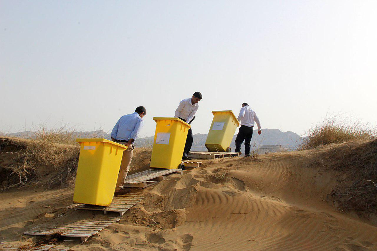 پاکسازی دریا از زباله در پارس شمالی 15