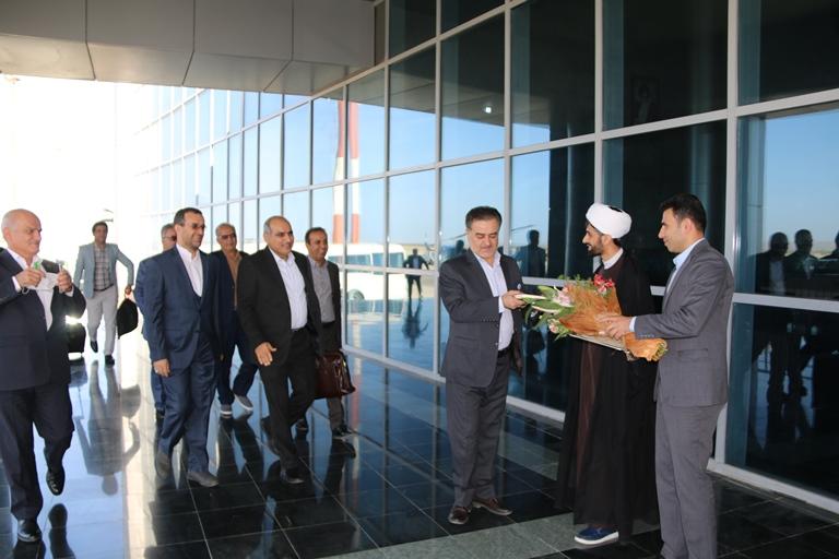 اولین روز کاری مهندس موسوی مدیر عامل سازمان منطقه ویژه پارس 1