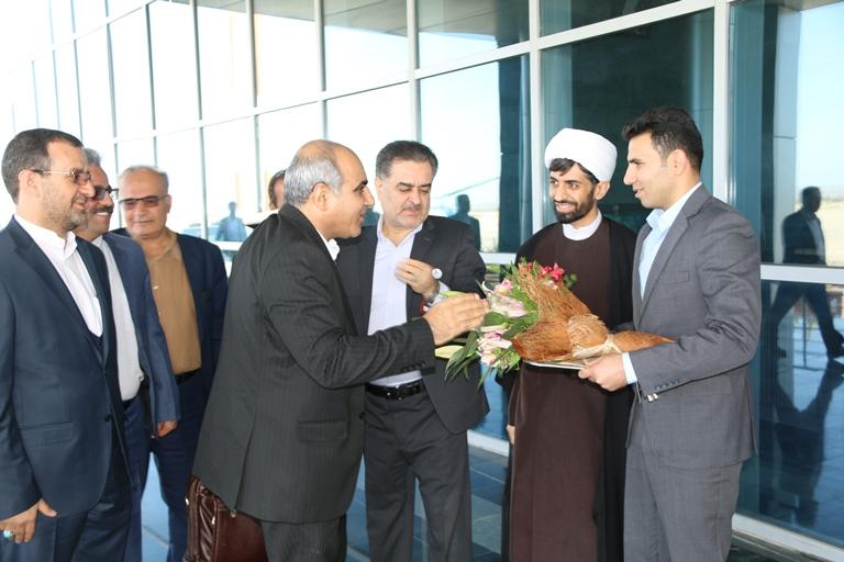 اولین روز کاری مهندس موسوی مدیر عامل سازمان منطقه ویژه پارس 2