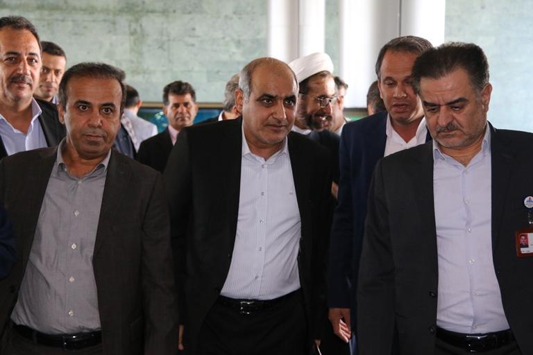 اولین روز کاری مهندس موسوی مدیر عامل سازمان منطقه ویژه پارس 3