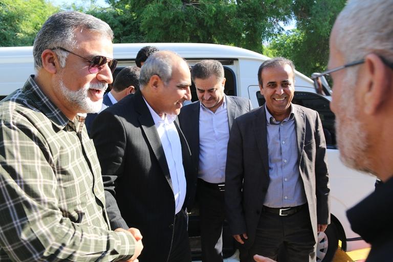 اولین روز کاری مهندس موسوی مدیر عامل سازمان منطقه ویژه پارس 4