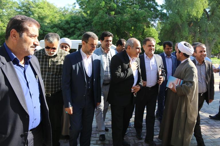 اولین روز کاری مهندس موسوی مدیر عامل سازمان منطقه ویژه پارس 5