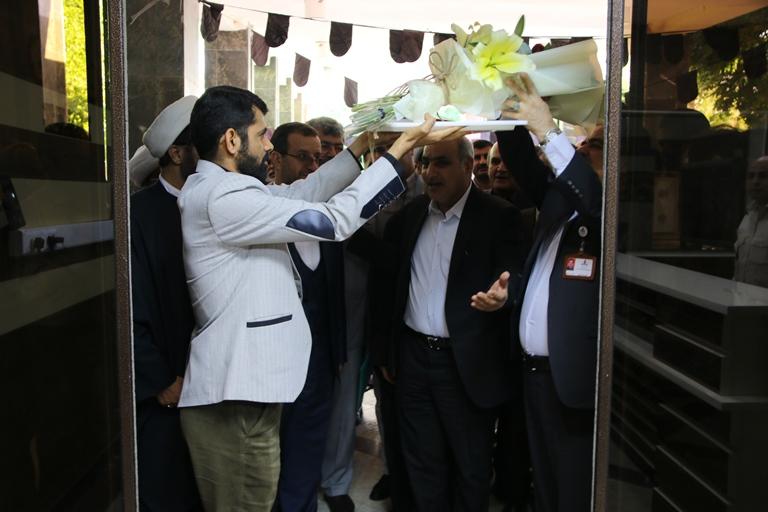 اولین روز کاری مهندس موسوی مدیر عامل سازمان منطقه ویژه پارس 6