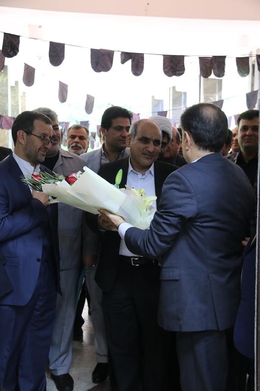 اولین روز کاری مهندس موسوی مدیر عامل سازمان منطقه ویژه پارس 8