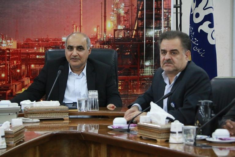 اولین روز کاری مهندس موسوی مدیر عامل سازمان منطقه ویژه پارس 11