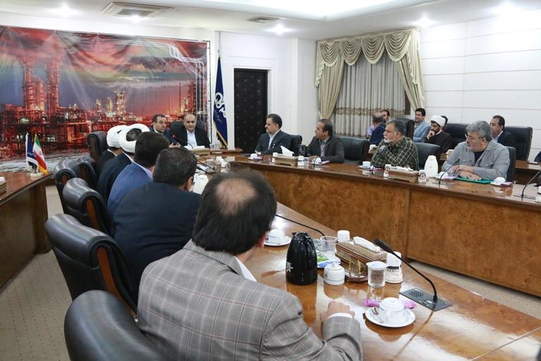 اولین روز کاری مهندس موسوی مدیر عامل سازمان منطقه ویژه پارس 12