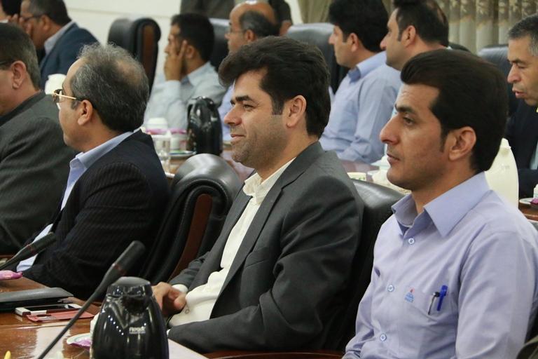اولین روز کاری مهندس موسوی مدیر عامل سازمان منطقه ویژه پارس 13