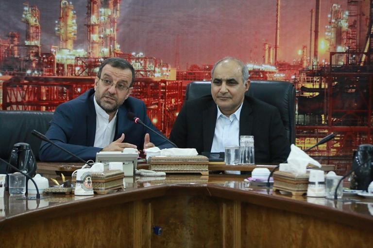 اولین روز کاری مهندس موسوی مدیر عامل سازمان منطقه ویژه پارس 14
