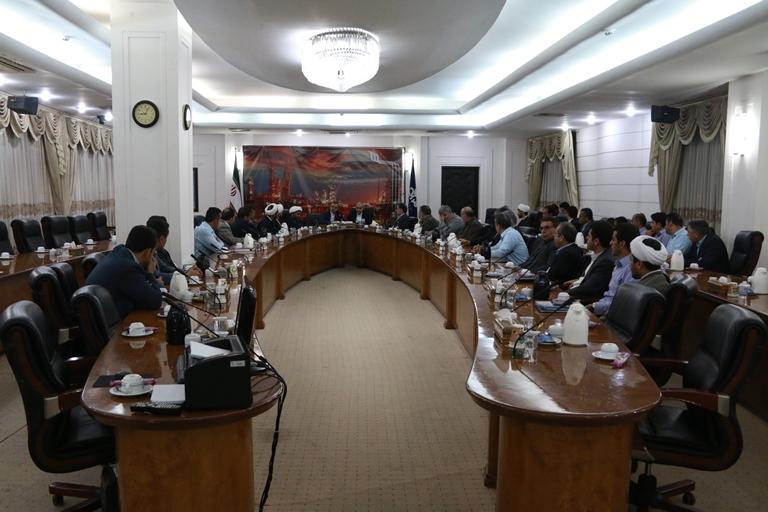 اولین روز کاری مهندس موسوی مدیر عامل سازمان منطقه ویژه پارس 16