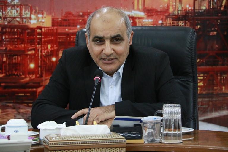 اولین روز کاری مهندس موسوی مدیر عامل سازمان منطقه ویژه پارس 18