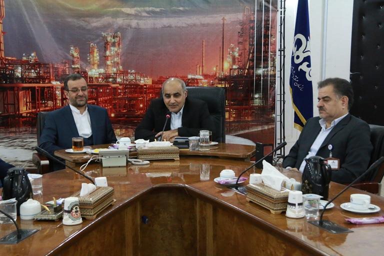 اولین روز کاری مهندس موسوی مدیر عامل سازمان منطقه ویژه پارس 19