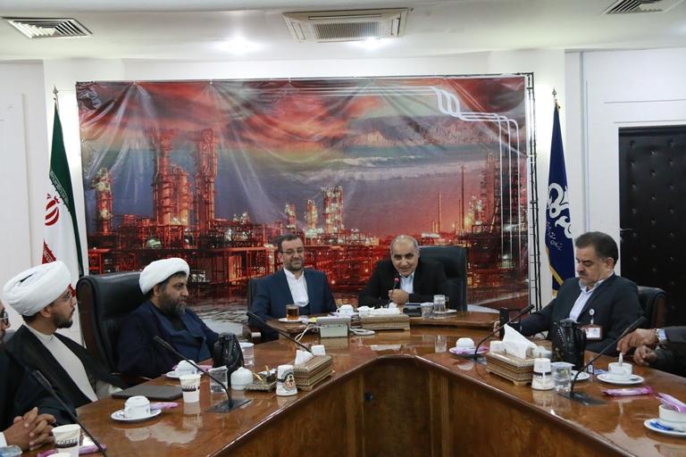 اولین روز کاری مهندس موسوی مدیر عامل سازمان منطقه ویژه پارس 20