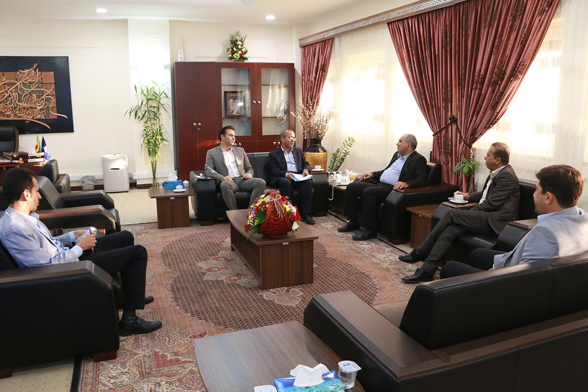 دیدار با رییس شورای شهر نخل تقی 1