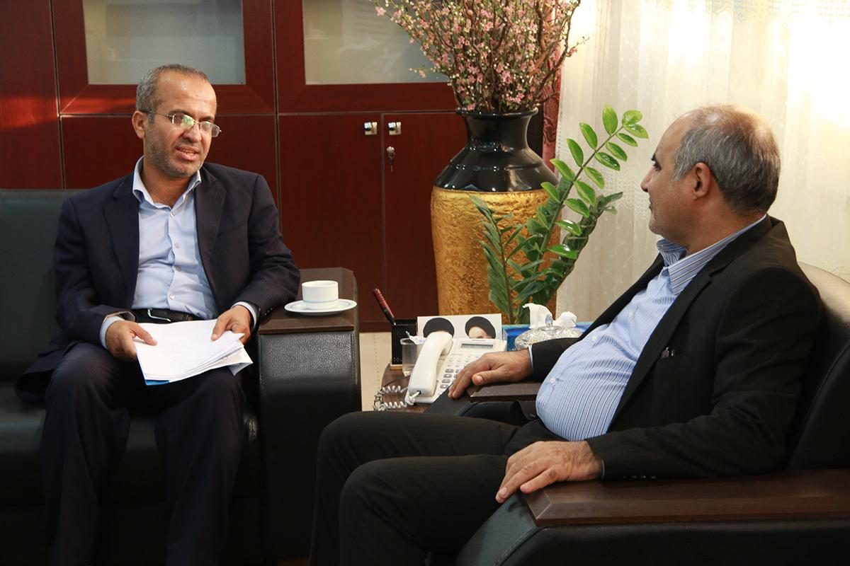 دیدار با رییس شورای شهر نخل تقی 4