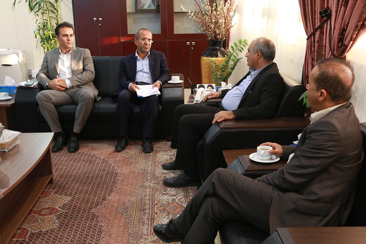 دیدار با رییس شورای شهر نخل تقی 5
