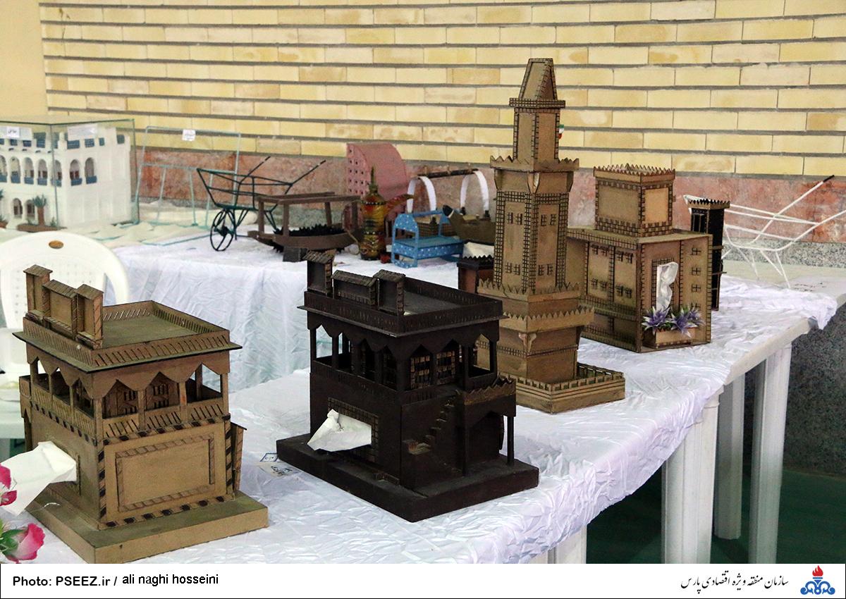 نمایشگاه صنایع دستی عسلویه 3